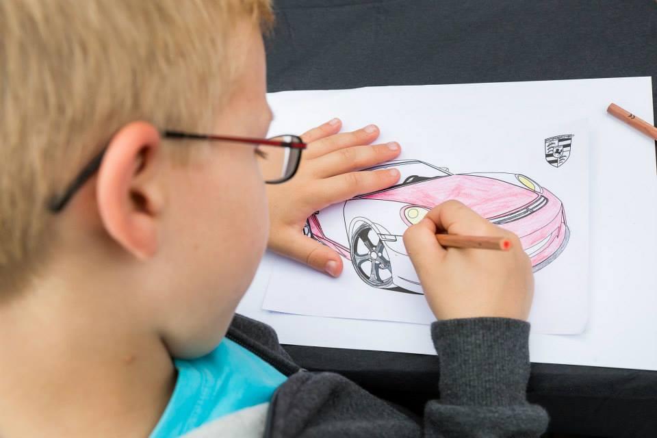 Kinderaktion Porsche