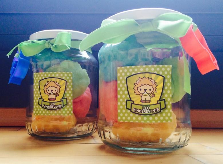 Knete selber machen ohne Alaun - Kindergastgeschenke